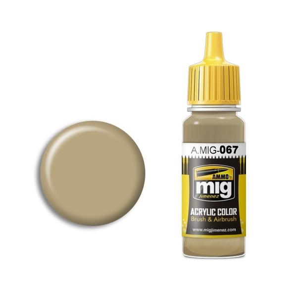 AMMO by MIG Acrylic - LIGHT SAND GREY AMIG0067 AMMO by MIG