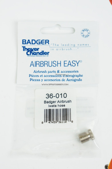 Badger airbrush adapter to 1/8 hose 36-010 Badger