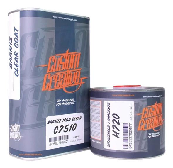 Custom Creative Iron Clear C7510 with H720 Hardener CC/C7510 Custom Creative