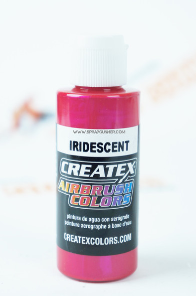 Createx Airbrush Colors Iridescent Red 5501 2oz Discounted