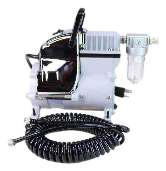 Mini Air Compressor with 1/8-1/8 Hose by NO-NAME Brand SG-268F NO-NAME brand