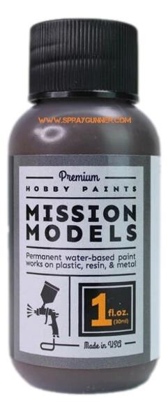 Mission Models Paints Color MMP-139 Dunkelbraun RAL 7017 MMP-139 Mission Models Paints