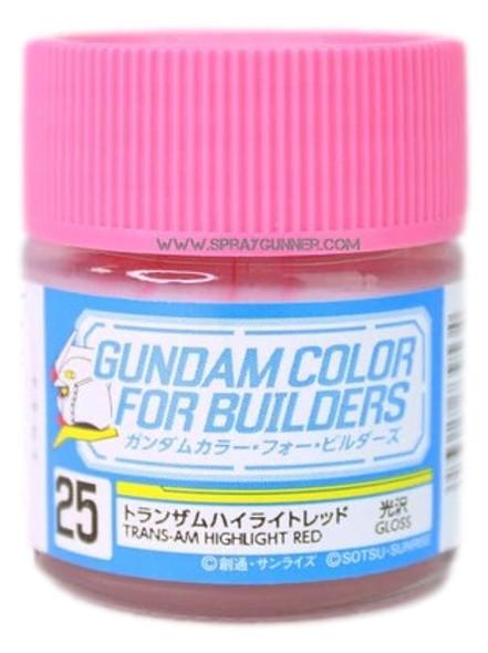 GSI Creos Gundam Color Model Paint Trans-am Highlight Red UG25 UG25 GSI Creos Mr Hobby