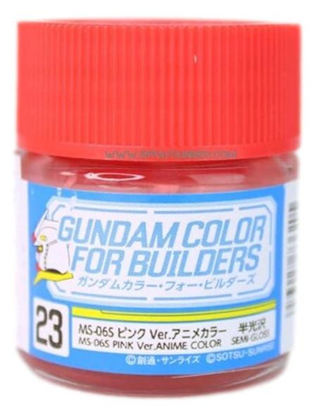 GSI Creos Gundam Color Model Paint MS-06S Pink Ver Anime Color UG23 UG23 GSI Creos Mr Hobby