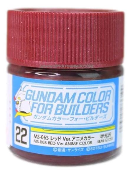 GSI Creos Gundam Color Model Paint MS-06S Red Ver Anime Color UG22 UG22 GSI Creos Mr Hobby