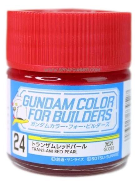 GSI Creos Gundam Color Model Paint Trans-am Red Pearl UG24 UG24 GSI Creos Mr Hobby