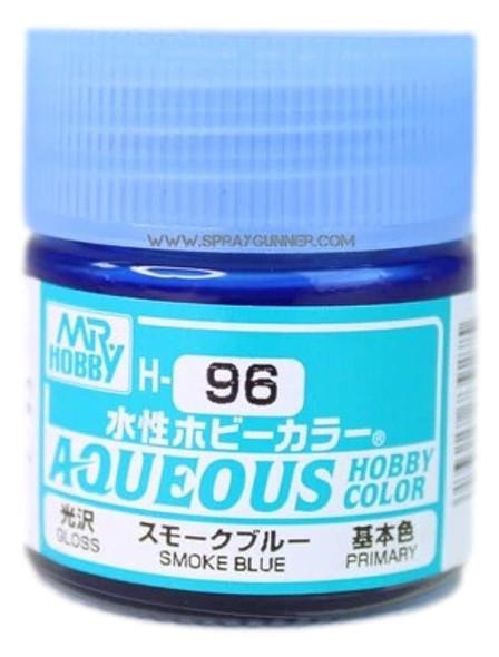 Mr Hobby Aqueous H96 Gloss Smoke Blue H96 GSI Creos Mr Hobby