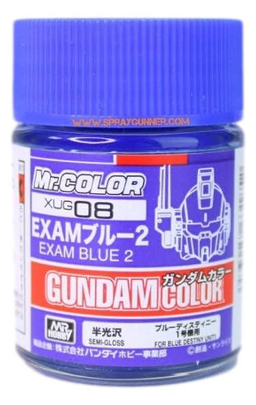 GSI Creos MrHobby Gundam Color Model Paint Exam Blue 2 XUG08 GSI Creos Mr Hobby