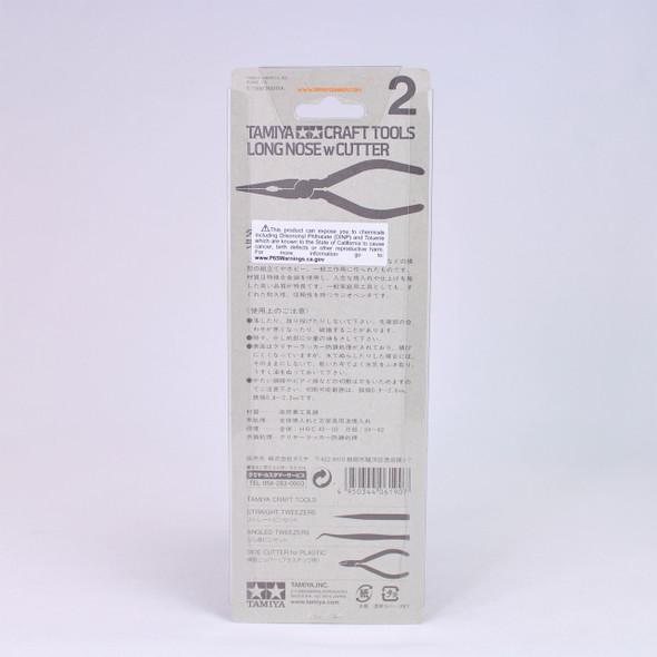 Tamiya Long Nose Pliers with Cutter 74002 Tamiya