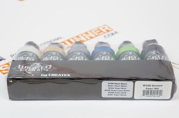 Wicked Pearl Set W105-00 W105-00 Createx