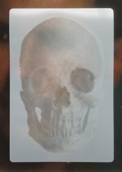 Blair Stencil - Halftone Dot Skull BLST038 BLAIR