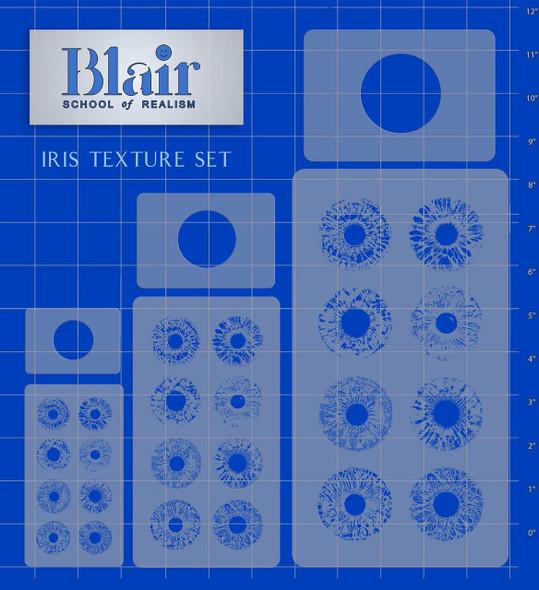Blair Stencil - Iris Texture BLST-924 BLAIR