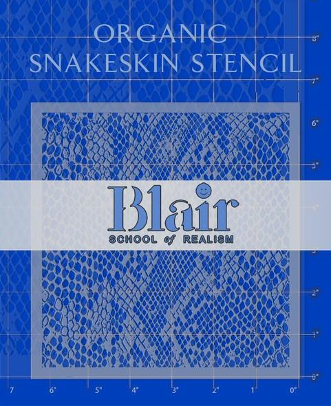 Blair Stencil - Organic Snakeskin BLAIR