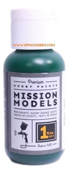 Mission Models Paints Color MMP- 169 Transparent Green MMP-169 Mission Models Paints