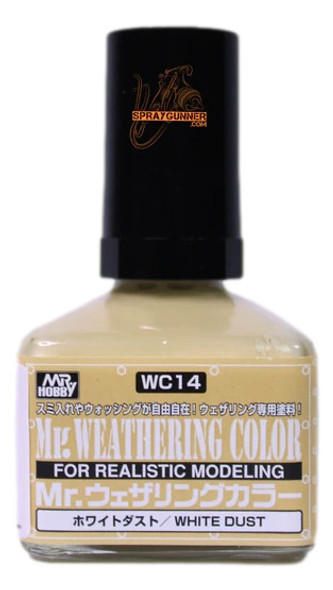 GSI Creos MrWeathering Color Model Paint White Dust WC14 GSI Creos Mr Hobby