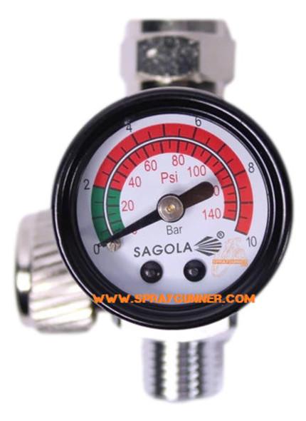 Sagola Flow Regulator With Pressure Gauge RC2 40000335 Sagola