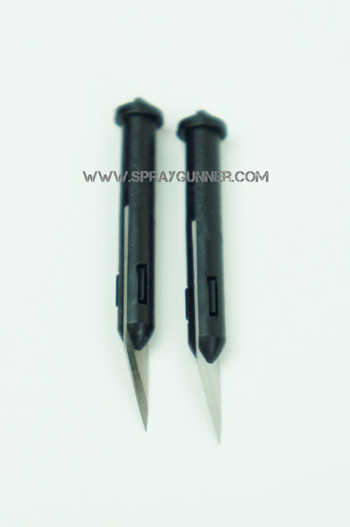 2 spare blades for Excel Executive Retractable Knife 21065 Excel Hobby Blades