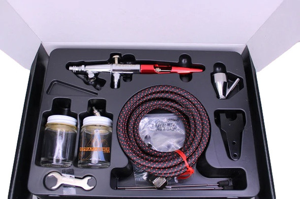 Paasche Airbrush VLS-202S Set with Metal Handle and All Three Heads VLS-202S Paasche