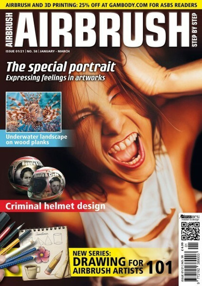 AIRBRUSH STEP BY STEP ASBS MAGAZINE 01/21 ASBS 01/21 Step by Step Magazine