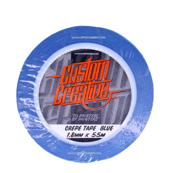 Custom Creative Fine Line Crepe Blue Tape TPB-Crepe Custom Creative