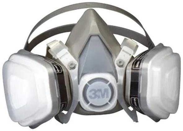 3M 1/2 Cartridge Respirator Assembly Mask Small 07191