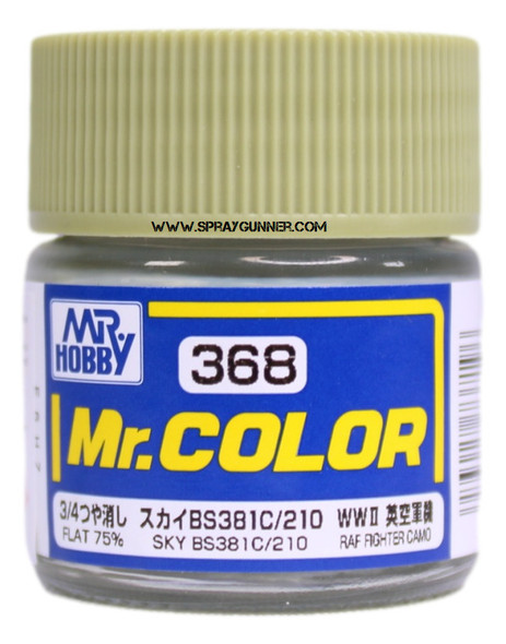 GSI Creos Mr Color Model Paint Flat Sky C368 C368 GSI Creos Mr Hobby