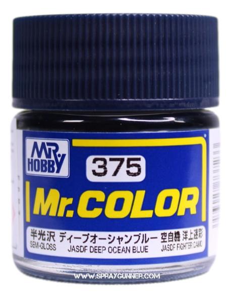 GSI Creos Mr Color Model Paint Semi-Gloss Deep Ocean Blue C375 C375 GSI Creos Mr Hobby