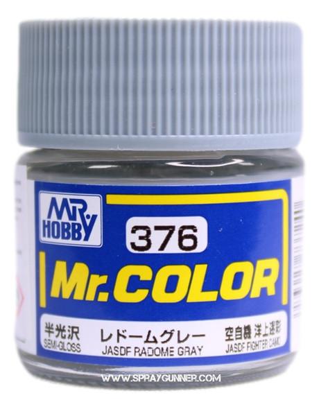 GSI Creos Mr Color Model Paint Semi-Gloss Radome Gray C376 C376 GSI Creos Mr Hobby