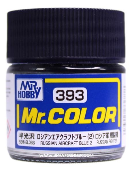 GSI Creos Mr Color Model Paint Semi-Gloss Russian Aircraft Blue 2 C393 C393 GSI Creos Mr Hobby