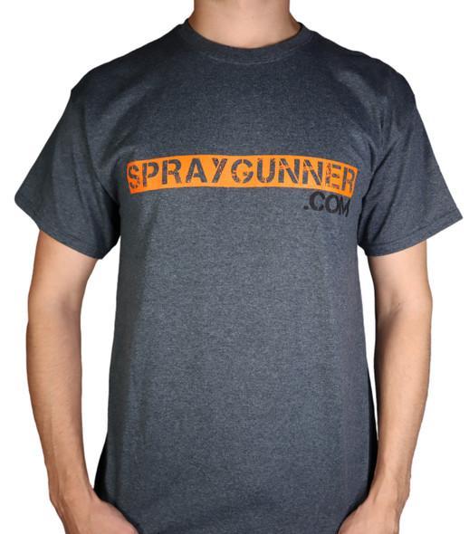 SprayGunner Gray Heather T-Shirt SprayGun-Tee SprayGunner