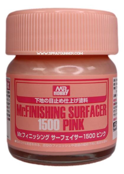 GSI Creos MrFinishing Surfacer 1500 Pink SF292 GSI Creos Mr Hobby