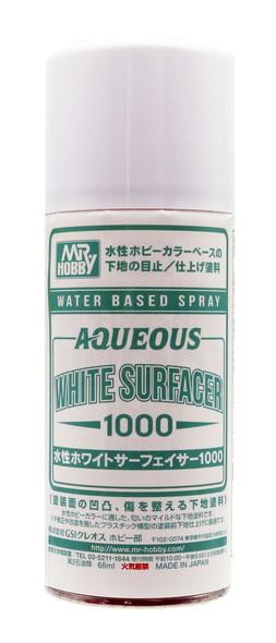 GSI Creos Mr Hobby Water Based Aqueous White Surfacer 1000 B612 B612 GSI Creos Mr Hobby