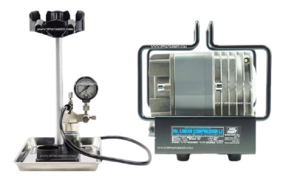 GSI Creos Mr Hobby MrLinear Compressor L7/Regulator PS307 GSI Creos Mr Hobby