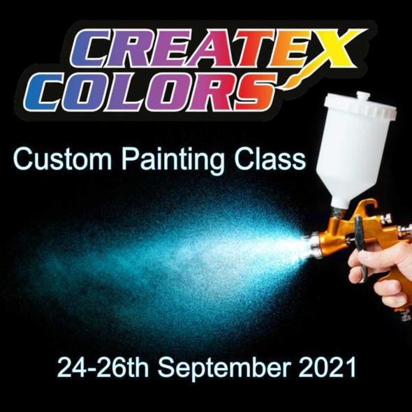 Custom Painting Class for Hard Surfaces – 24-26 September 2021 SprayGunner