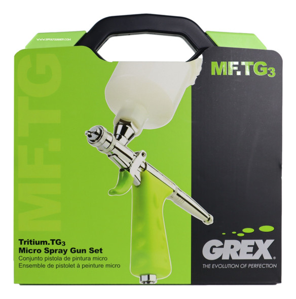 Grex TritiumTG Micro Spray Gun Set 0.3mm MFTG3 Grex Airbrush