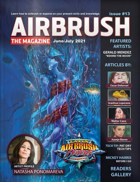 Airbrush The Magazine June/July 2021 ATM-JUN/JUL