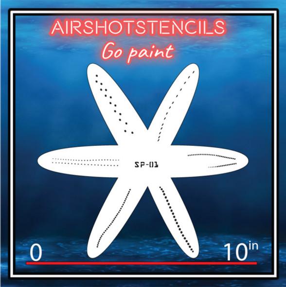 Air Shot Stencil Fishing Lure SP-01 LURE-SP01-MED Air Shot