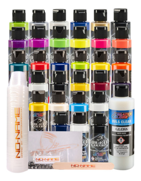 Createx Best of Wicked Colors Paint Set by NO-NAME Brand BOW-SET