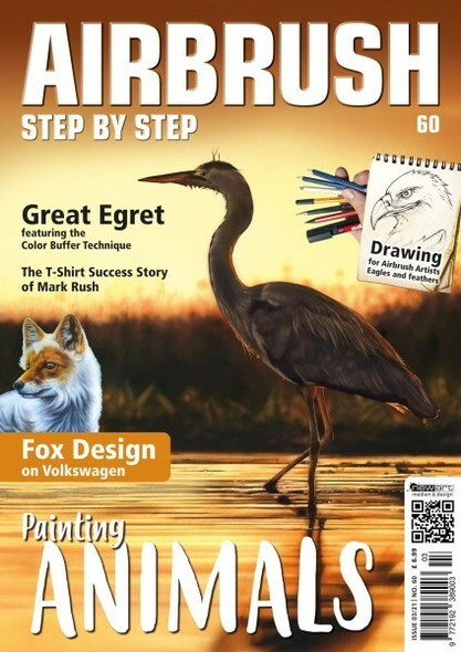 Airbrush Step By Step Magazine 03/21 ASBS 03/21 Step by Step Magazine