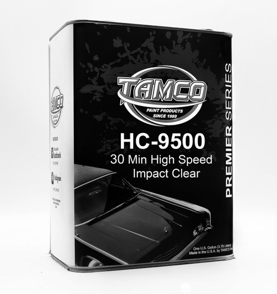 Tamco HC9500 HI-Speed Impact 30 Min 41 Clearcoat Gallon Kit with Activator HC9500-1gal Tamco
