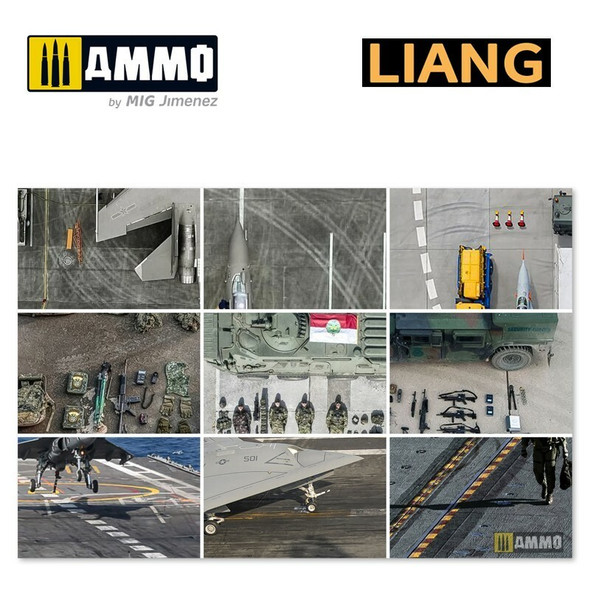 AMMO by MIG Tire Tracks Effects Airbrush Stencils A LIANG-0010 AMMO by MIG