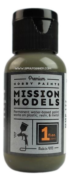 Mission Models Paints Color MMP-177 Gelbolive RAL 6014 MMP-177 Mission Models Paints