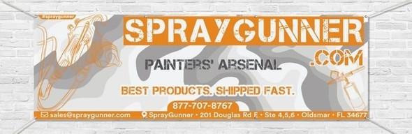 SprayGunner Vinyl Banners NO-NAME brand