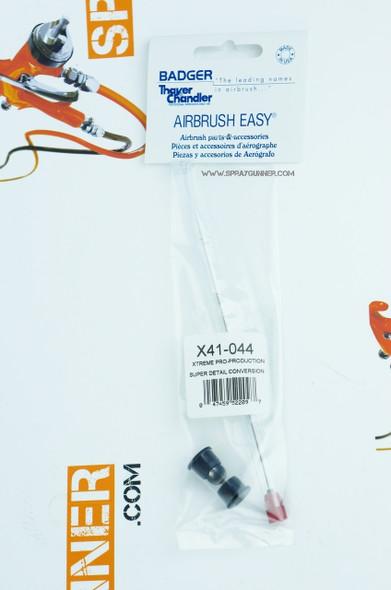 Badger X41-044 Xtreme Pro Super Detail Conversion Kit X41-044 Badger
