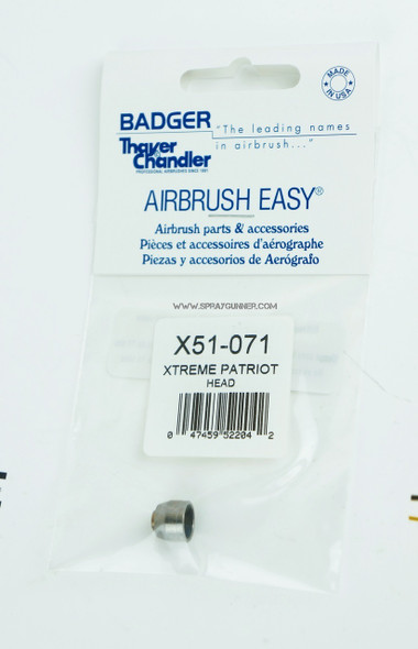 Head for the Badger Xtreme Patriot Airbrush X51-071 X51-071 Badger