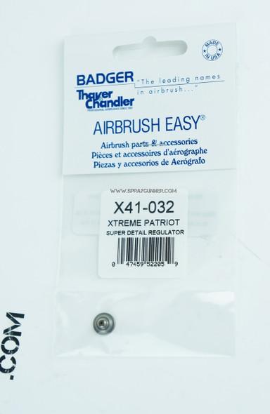 Super Detail Regulator for the Badger Xtreme Patriot Airbrush X41-032 Badger