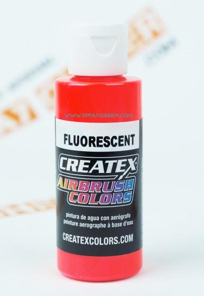 Createx Airbrush Colors Fluorescent Red 5408 5408 Createx