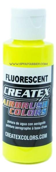 Createx Airbrush Colors Fluorescent Yellow 5405 5405 Createx