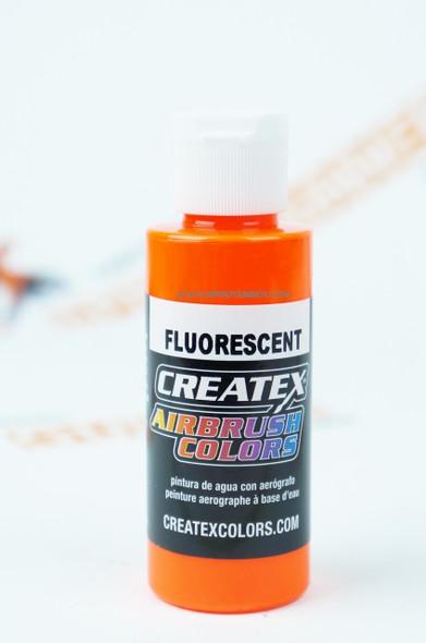 Createx Airbrush Colors Fluorescent Orange 5409 5409 Createx