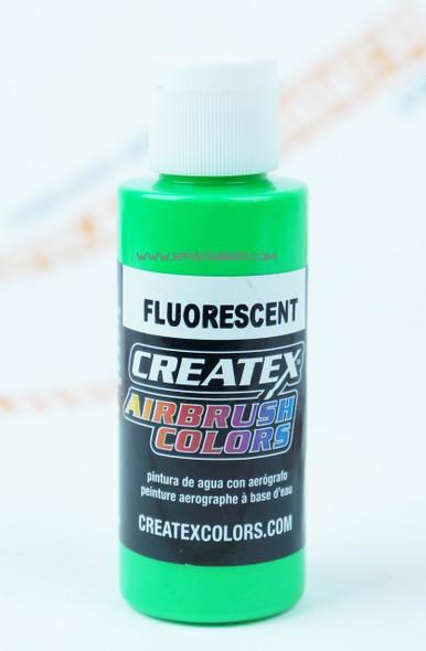Createx Airbrush Colors Fluorescent Green 5404 5404 Createx